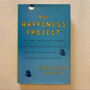 The Happiness Project book by Gretchen Rubin